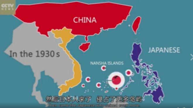 Video hoạt hình khẳng định chủ quyền của Trung Quốc tại Biển Đông