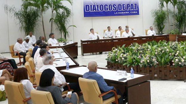 Los diálogos de paz