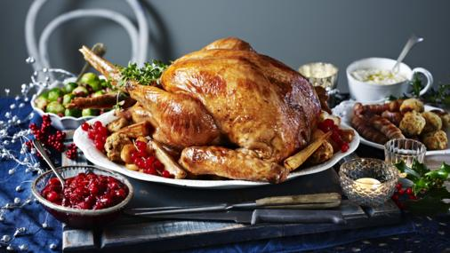 Image result for christmas dinner turkey bbc