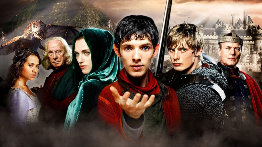 BBC One - Merlin, Series 2, Series 2 heroes - The Great Dragon, Gwen,  Gaius, Morgana, Merlin, prince Arthur and King Uther