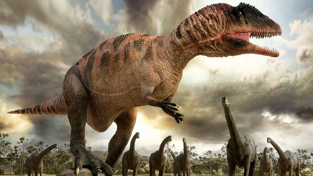 BBC One Planet Dinosaur Original Series Planet