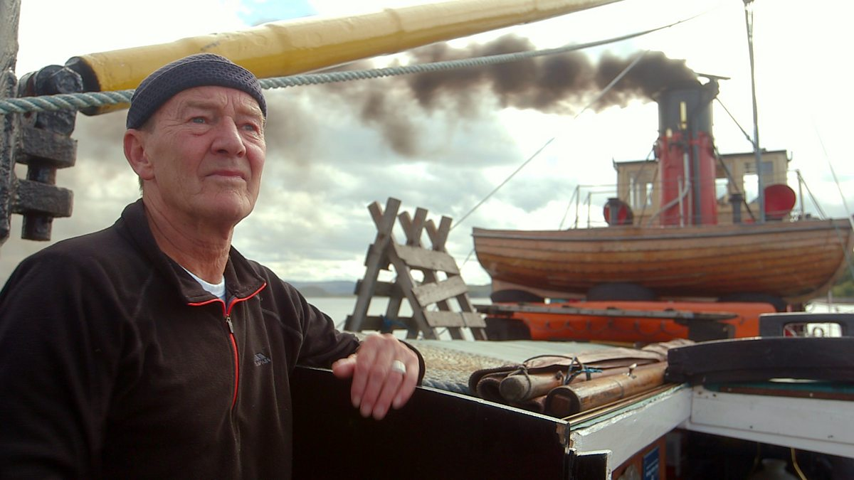 BBC Two Scotlands Vital Spark The Clyde Puffer