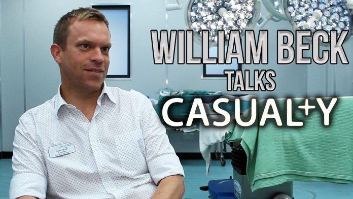 William Beck talks Casualty