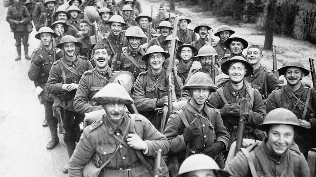 How were soldiers recruited in World War One? - BBC Bitesize