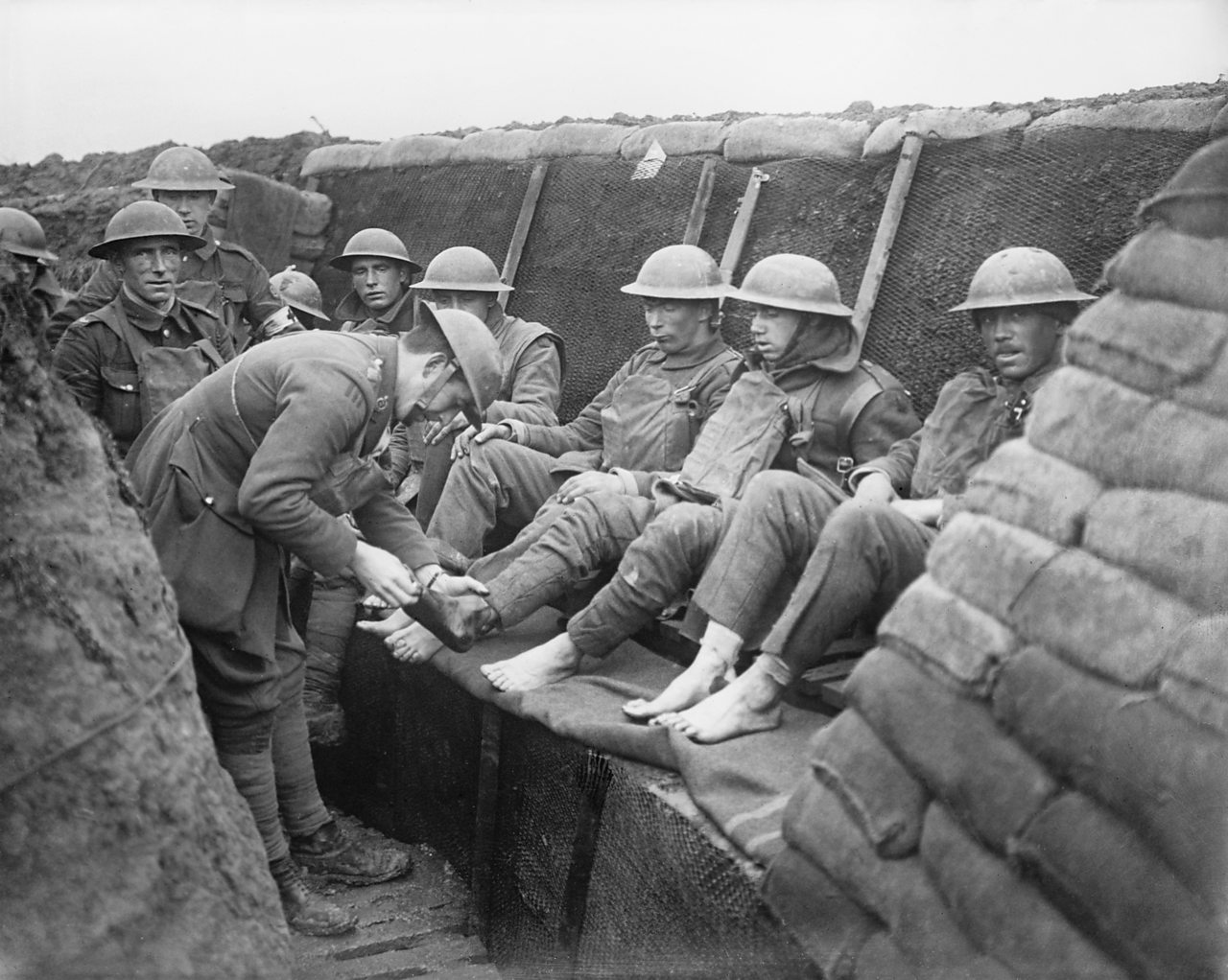 What Was Life Like In A World War One Trench