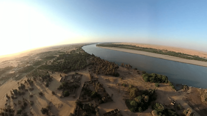 a 360-degree version of BBC News's Damming the Nile VR series