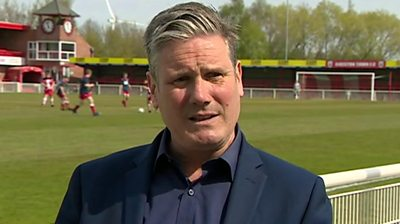 Starmer: 'Every day there's more sleaze, it stinks'