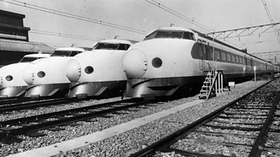 Driving Japan's first bullet trains #world #BBC_News