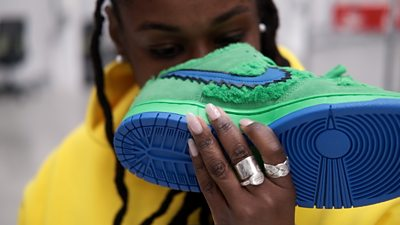 How to sniff out fake trainers