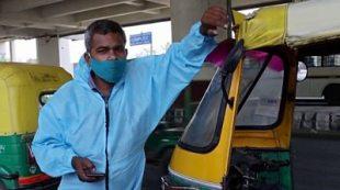 India Covid-19: The 'tuk-tuk ambulance' helping patients #world #BBC_News