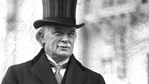 Prime Minister David Lloyd George