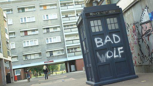 TARDIS // Copyright BBC