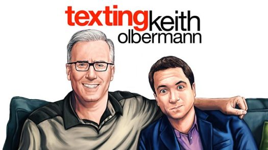 Image result for texting keith olbermann
