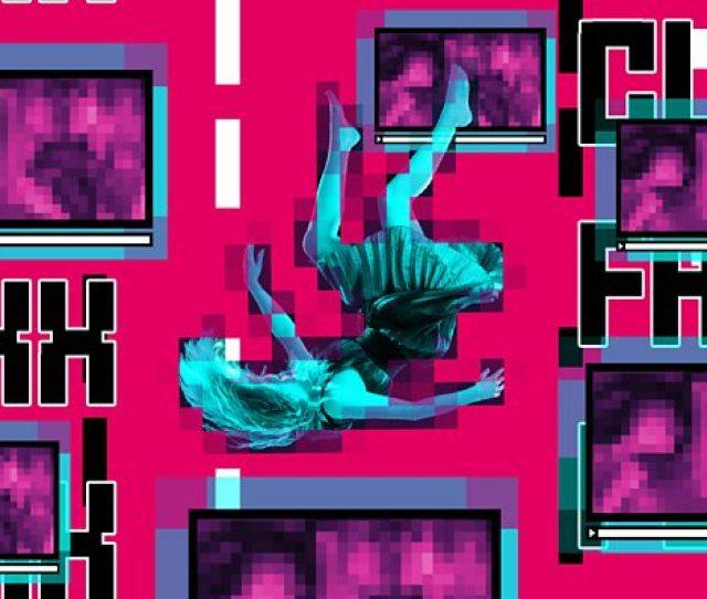 A Woman Falling Through Space
