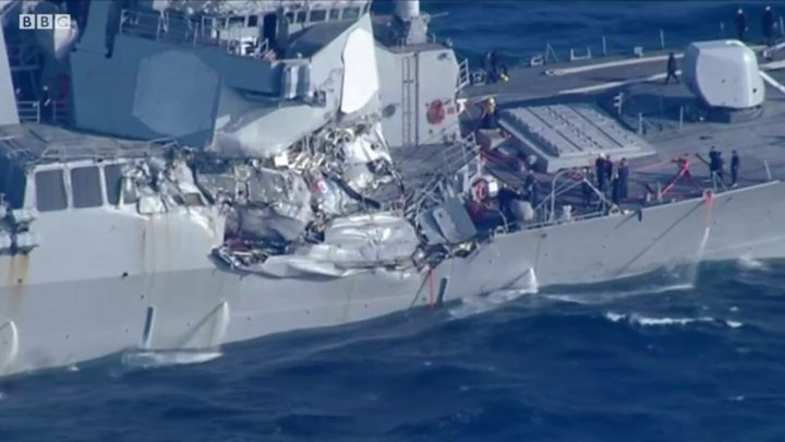 p0564vzr Американские моряки разучились крутить штурвал