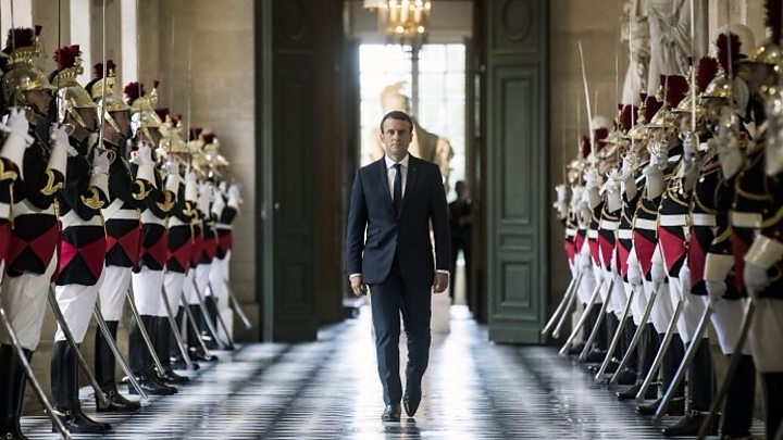 Image result for Macron seeks to cut number of MPs by a third