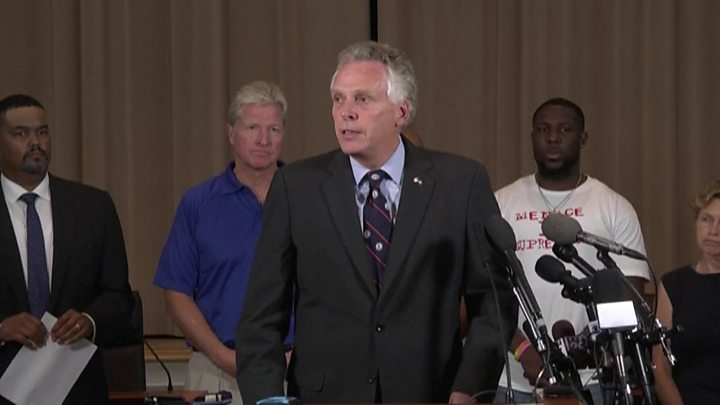 Charlottesville: Virginia governor tells white supremacists: 'Go home' - image  on http://us-news.net