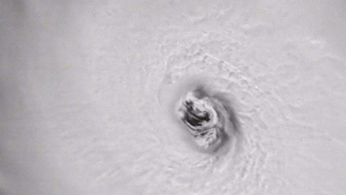 Cómo se ve el huracán Irma desde el espacio