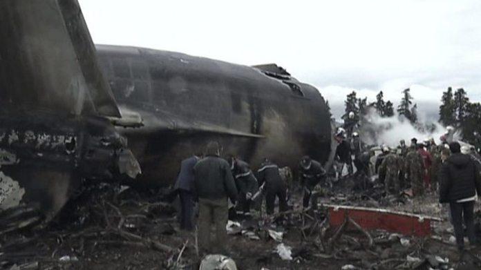 Image result for military plane crash in algeria