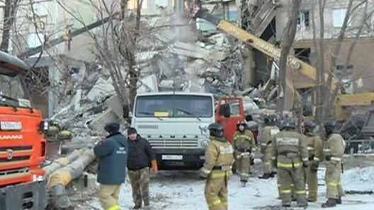 Picture result for Magnitogorsk: Rescuers found Baby alive after block explosion