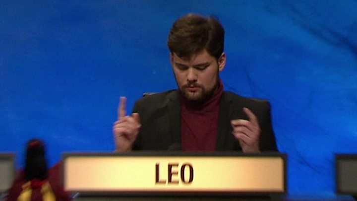University Challenge What S Behind Freddy Leo S Rapid Buzzing