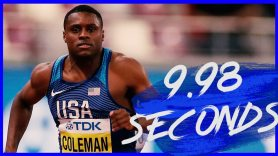 Image result for Christian Coleman cannot be face of athletics after missed tests - Michael Johnson