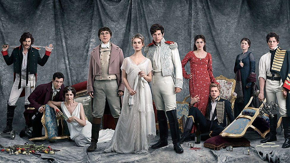 Image result for bbc war and peace