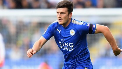 Image result for harry maguire leicester