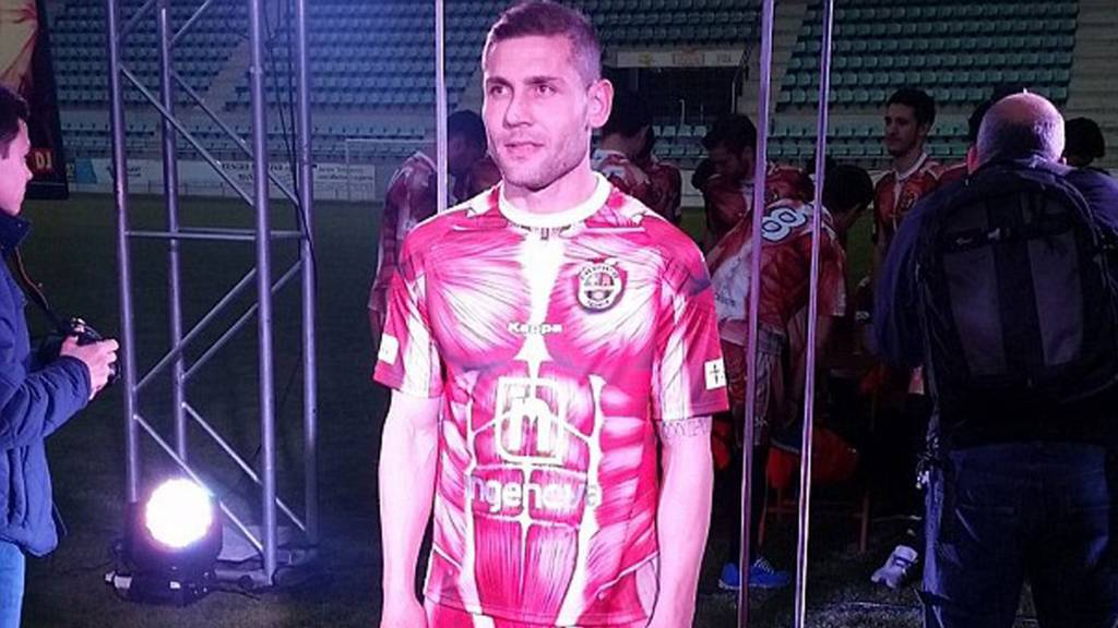 Deportivo Palencia kit. Image from @CDPalencia