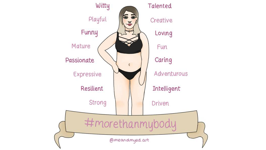 Finding yourself – more than my body