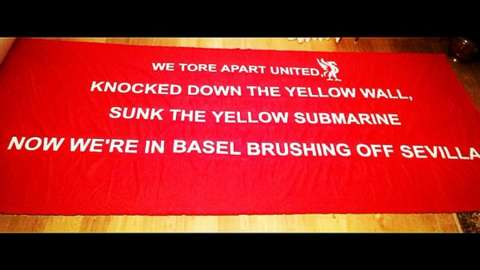 My new 1 for Basel ⚽️🔴 @LFC_Banners @TheAnfieldWrap @LFC @ThoseScouseLads