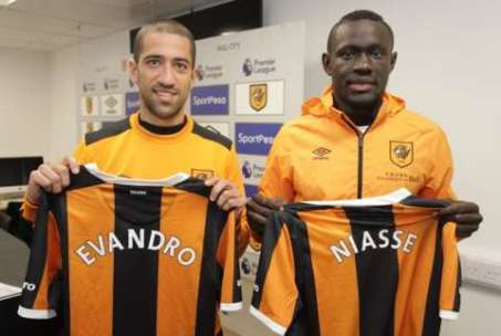 📑 | We are delighted to confirm the double signing of Oumar Niasse and Evandro #WelcomeOumar #WelcomeEvandro