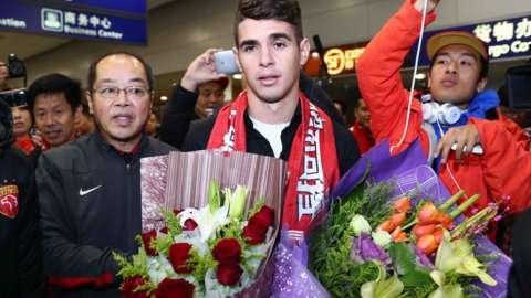 Oscar joins Shanghai SIPG