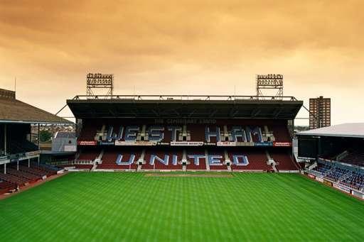 West Ham United's Upton Park stadium