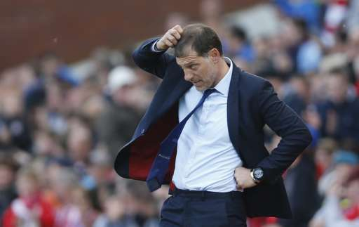Slaven Bilic was left disappointed by his side's failure to achieve sixth place