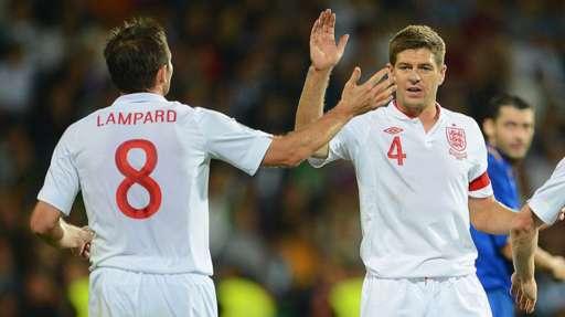 Steven Gerrard and Frank Lampard