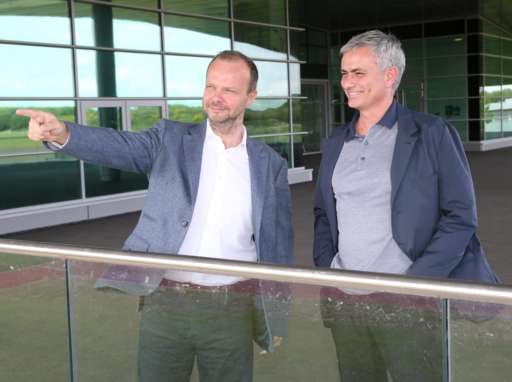 Ed Woodward and Jose Mourinho