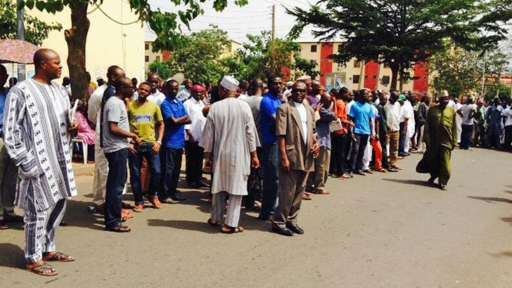 Queues in Abuja