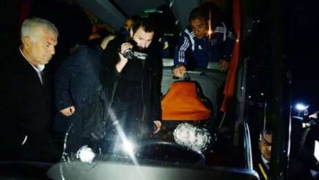 Fenerbahce team bus