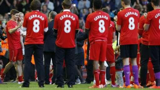 Gerrard walks out