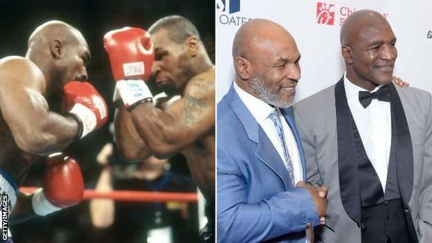 Tyson lost to Holyfield in 1996 and 1997 and there is speculation they could fight again