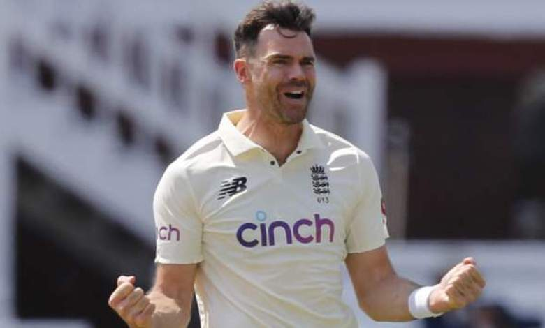 James Anderson becomes most capped England Test cricketer
