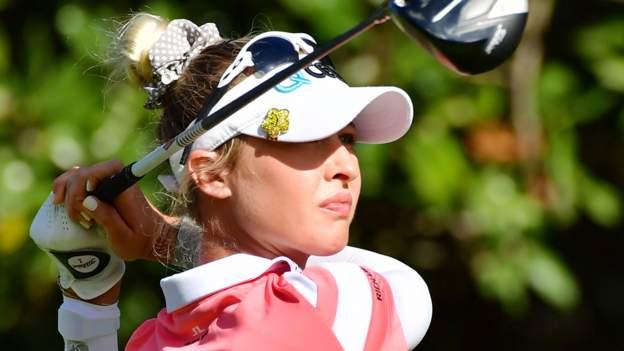 Nelly Korda wins the fourth Tour title at the Gainbridge LPGA Tournament