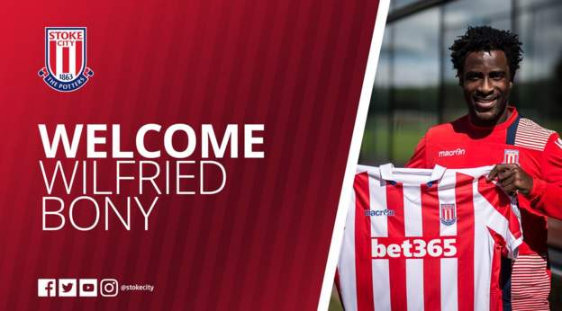 BREAKING | #SCFC delighted to announce the season-long loan signing of @wilfriedbony from @ManCity