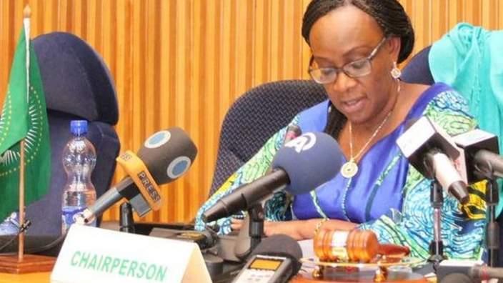 AU press conference