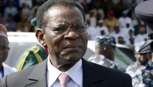Equatorial Guinea President Teodoro Obiang Nguema Mbasogo