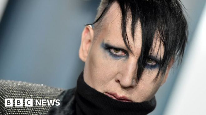 Marilyn Manson active arrest warrant issued on assault charges #world #BBC_News