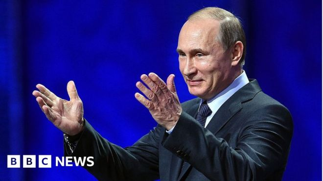 Putin sees 'double standard' in US Capitol riot prosecutions #world #BBC_News