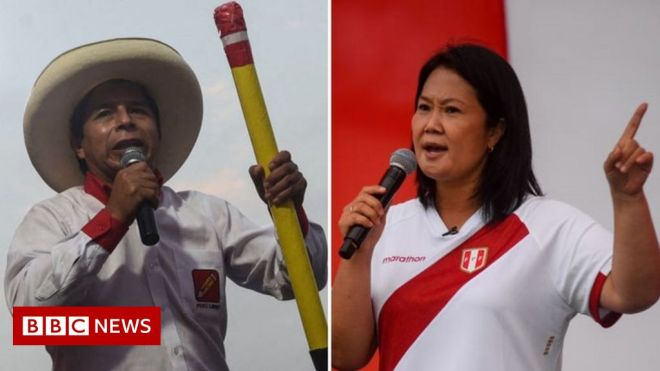 Peru election: Country on edge ahead of unpredictable run-off #world #BBC_News