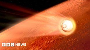 Nasa Mars rover: perseverance robot heading towards eerie landing – bbc news